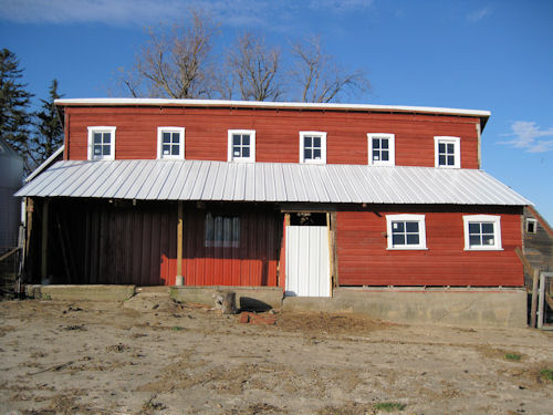 hog barn renovation