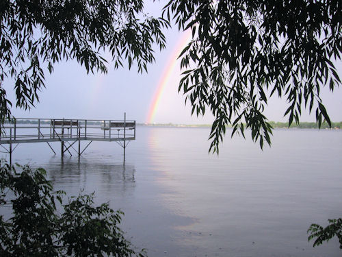 Lake Okabena Rainbow