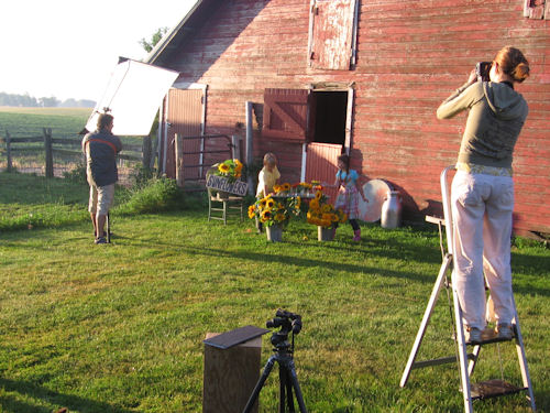 Midwest Living Photo Shoot