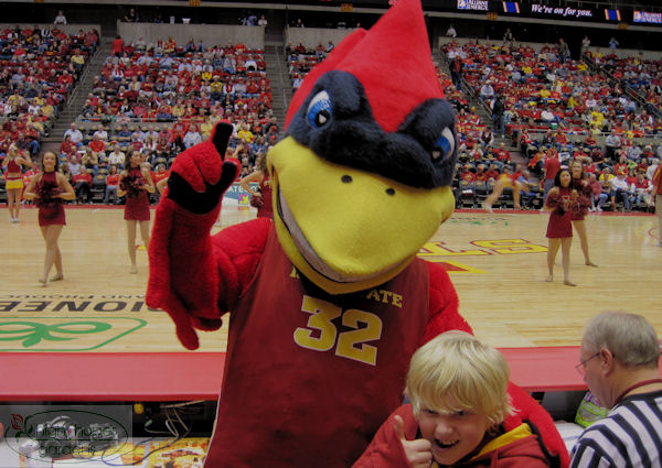 Mascot Cy, ISU Mascot