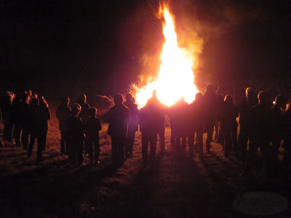 solstice bonfire