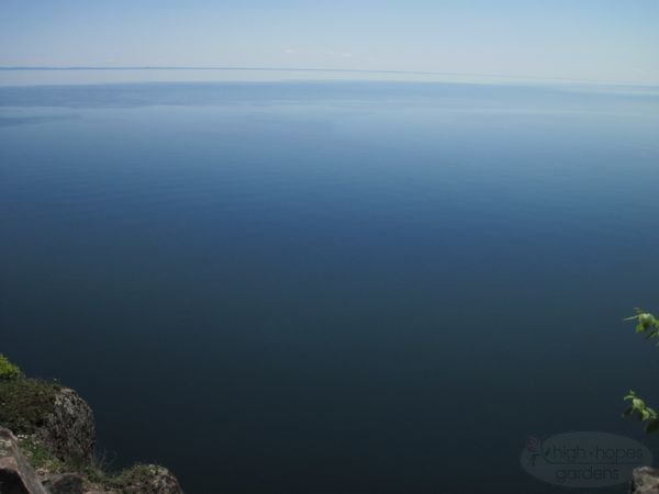 calm lake superior