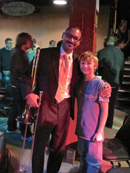Delfeayo Marsalis with boy