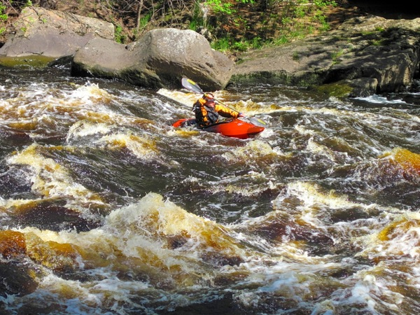 Kayak in Kettle River