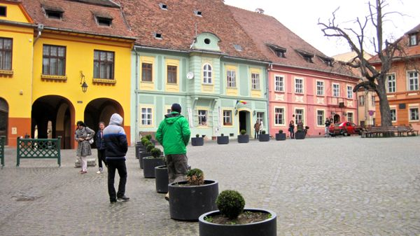Segesvarc or Sighisoara